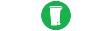 Zbiranje bioloških odpadkov na ekoloških otokih